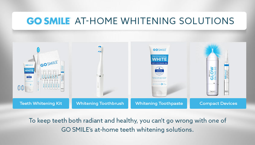 gosmile at home whitening solutions