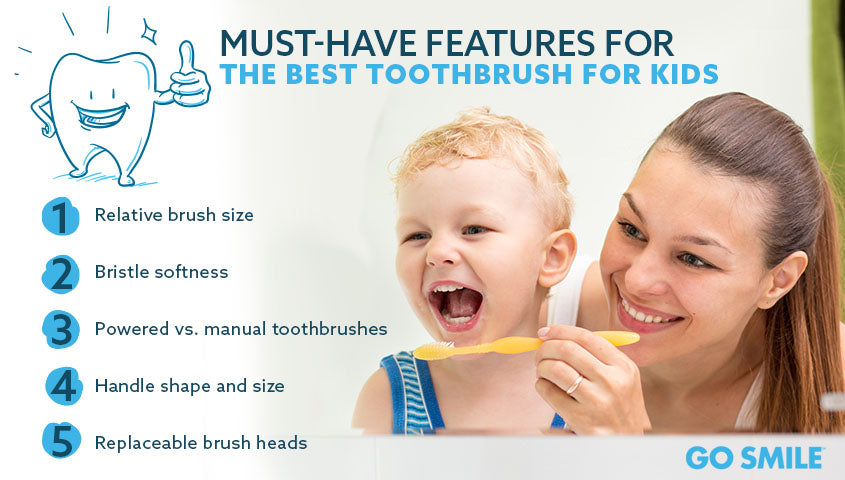 Must-Have Features for the Best Toothbrush for Kids