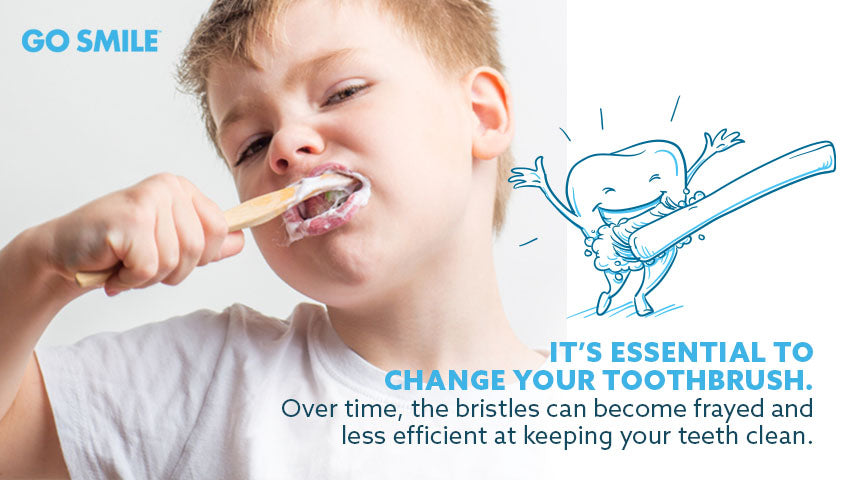 It's essential to change your toothbrush