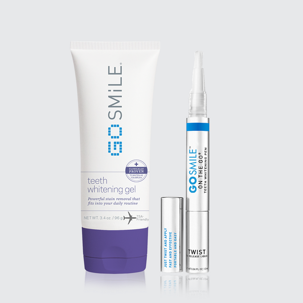 Teeth Whitening Gel & Whitening Pen Duo