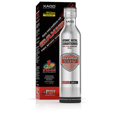 Atomic Metal Conditioner Maximum SUV with 1 Stage Revitalizant