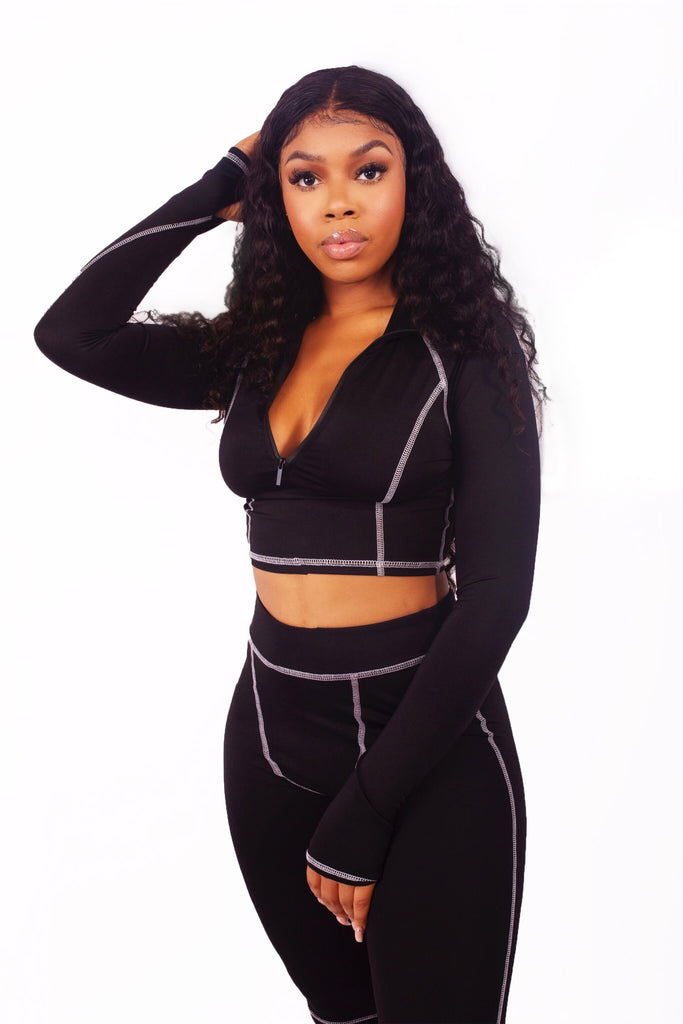 Monochrome Two Piece // Pre-Order