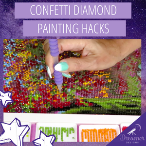 Confetti Diamond Painting Hacks