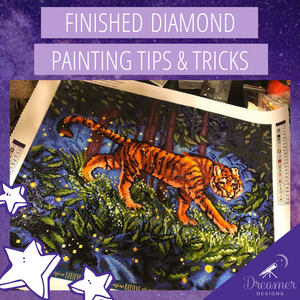 Finished Diamond Painting Tips and Tricks