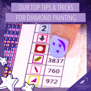 Our Top Tips and Tricks for Diamond Painting