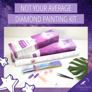 Not Your Average Diamond Painting Kit