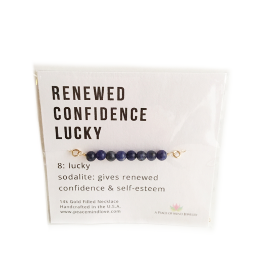 Renewed Confidence - Lucky Collection - Handmade