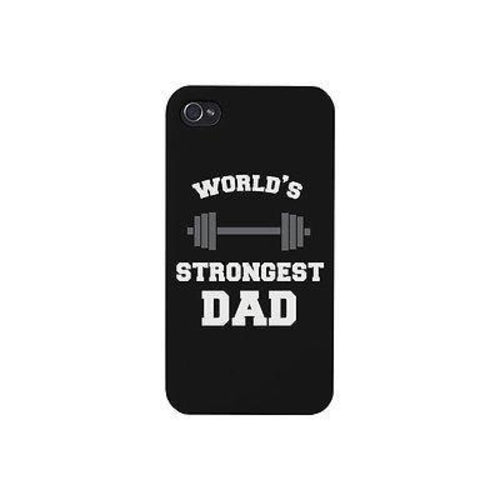 World's Strongest Dad Cute Phone Case Great Gift