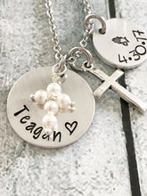 First communion necklace - Catholic jewelry -