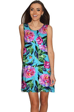 Peony Splash Sanibel Empire Waist Floral Mother