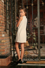 Ivory Beige Stretchy Summer Trendy Chic Party
