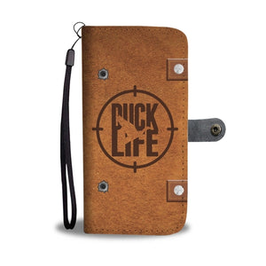 Duck Life Wallet Phone Case with RFID Protection