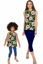 Little Queen of Flowers Emily Sleeveless Party Top