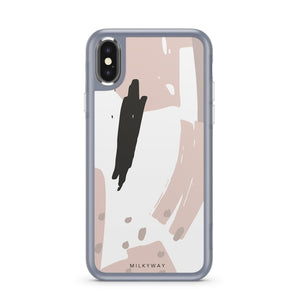 Abtract Blush - Slate iPhone Case