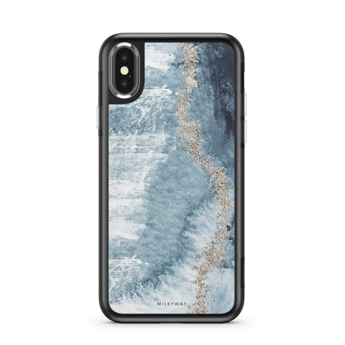 Arctic Ombre - Slate iPhone Case