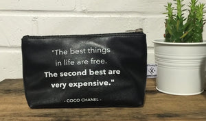 Vegan Leather Pouch- Best Things