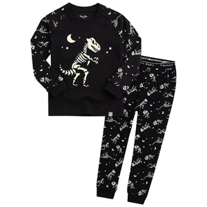 Dino Skeleton Kids Pajamas