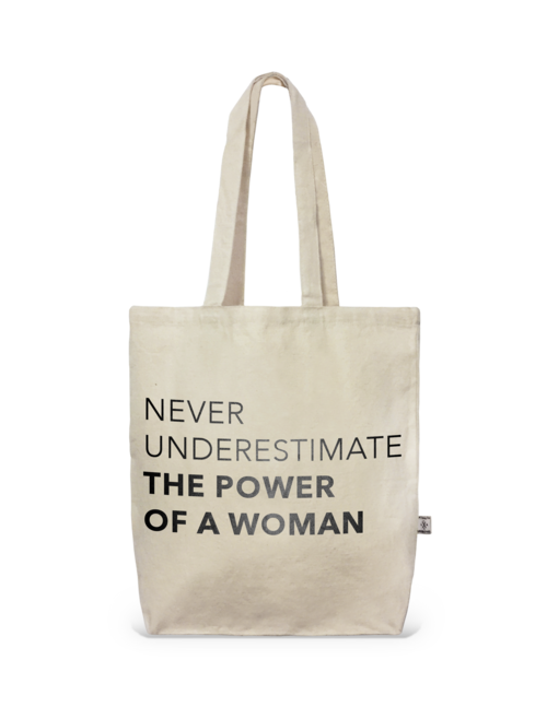 Tote- City tote The Power Of A Woman