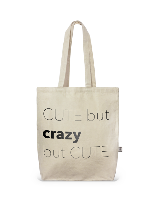 Tote- Perfect City Tote Crazy But Cute