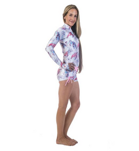 Women's Rashguards Turtle Friends