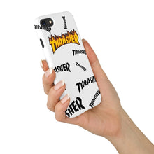 Thrasher Magazine Flames SplatterSkate iPhone Case
