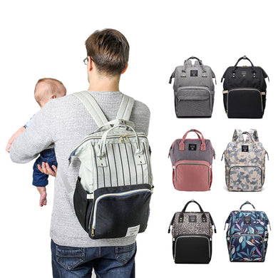 Fashion Nappy Bag Brand Large Capacity Designer Series