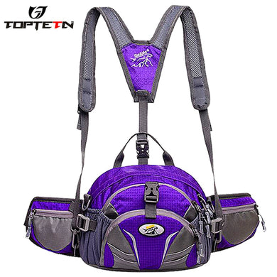 TOPTETN 2019 new bicycle camping outdoor waist bag men Sports and leisure backpack bicycle bag 4-in-1 Bicycle backpack