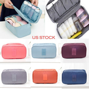 Bra Underwear Socks Cosmetic Packing Cube Travel  Bag Luggage Organizer