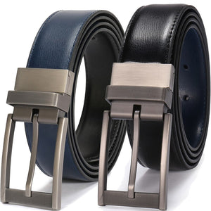 Men's Reversible Leather Belt Luxury