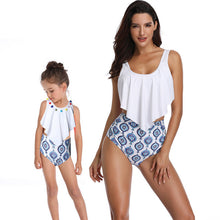 2PS Mommy and me swimsuit Mother and Daughter Swimsuit mommy and me Swimwear Bikini 2019 Summer Family Matching Outfits Swimsuit