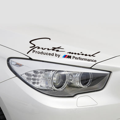 Car-styling Sports Mind Produced By Performance Power Motor Motorsport Sticker & Decal Accessories
