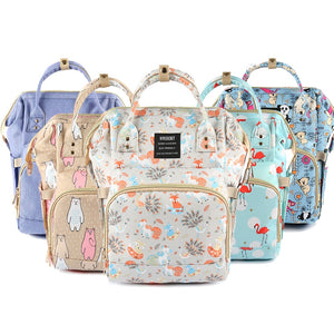 Diaper Bag Waterproof Travel Backpack