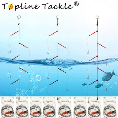 Fishhooks Stainless Steel Rigs Swivel Fishing Tackle Lures Pesca Baits Single String Hook  japan With 5 Small Hooks