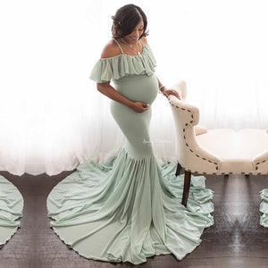 Maternity Photography Props Pregnancy Clothes Cotton