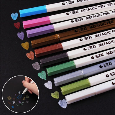 DIY Cute Water Chalk Pen Watercolor Gel Pen For Black Board