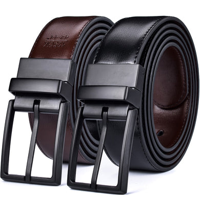 Men's Belt Reversible Leather Belts for Men