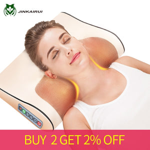 Infrared Heating Shoulder, Neck, Back, Body Electric Massage Pillow