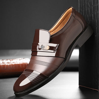 Formal shoes men loafers business shoes