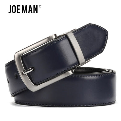 Men's Genuine Leather Belt High Quality Reversible