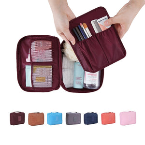 Convenient Travel Cosmetic Makeup Toiletry Case