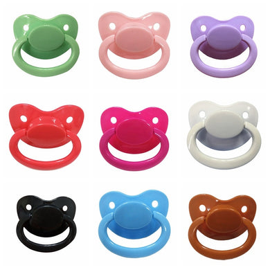 Custom Big Size Silicone Pacifier Baby Care Accessories