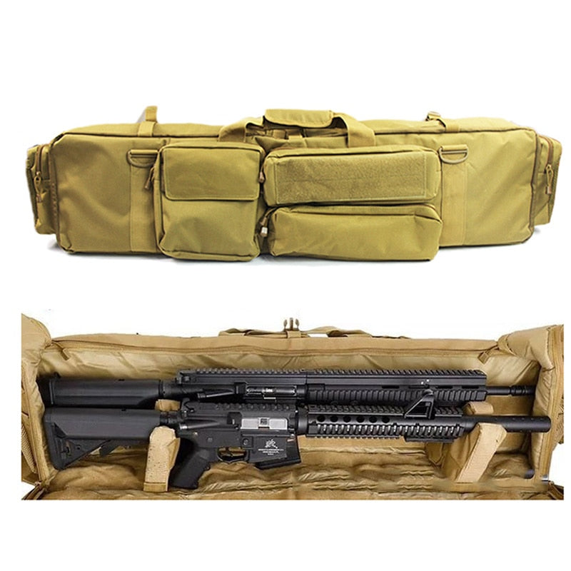 Gun Bag Backpack Double Rifle Case