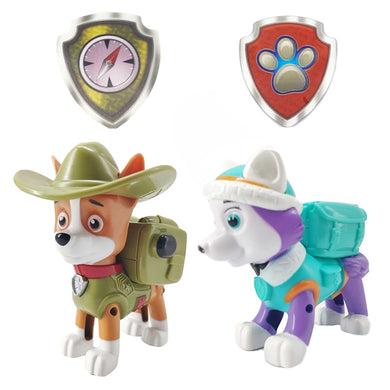 Paw Patrol Everest Tracker Dog Skateboard PVC Action Figures