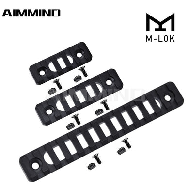 Mlok Handguard Section 5 7 13 Slot Aluminum Picatinny/Weaver Rail Handguard Section AR-15 MLOK Handguard 20mm