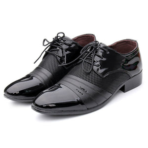 Formal Shoes Men's Pointed Toe Oxford Footwear 38-48