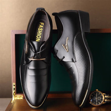 Fashion Men's large size Leather shoes