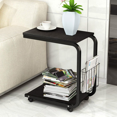 Tea table side end table for office
