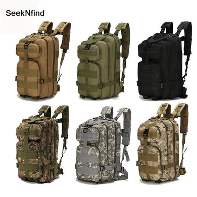 Nylon Tactical Military Backpack Waterproof Army Bag