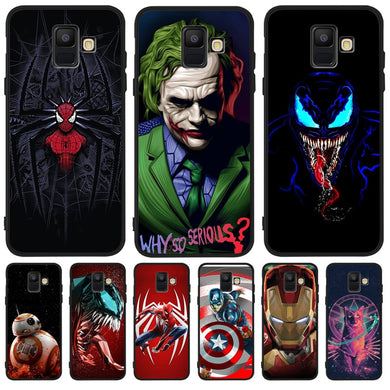 Luxury Marvel joker venom Captain For Samsung Galaxy