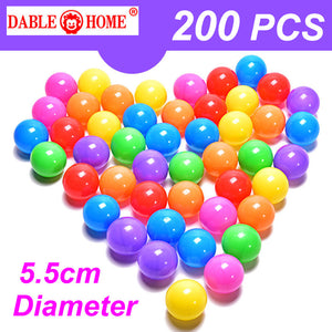 200pcs/bag Eco-Friendly Colorful Soft Plastic Water Air Balls